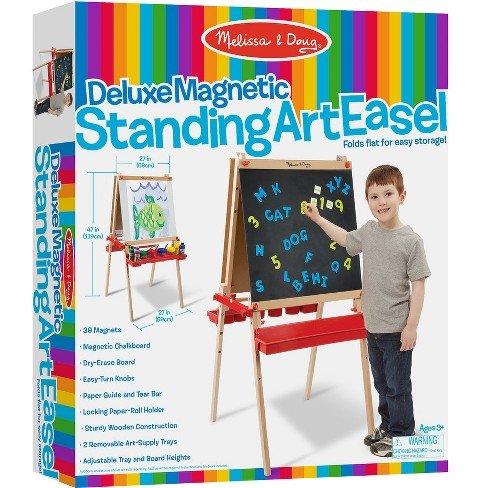 Melissa & Doug DELUXE MAGNETIC STANDING ART EASEL