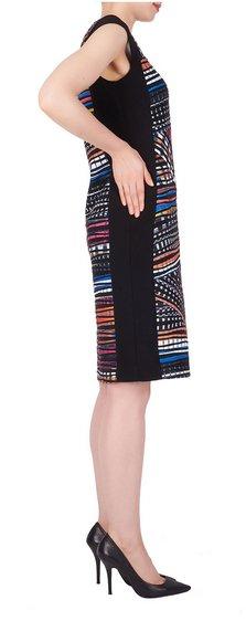 Multicolored Pattern Dress 191647