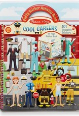 Melissa & Doug Puffy Sticker Activity Book - Cool Careers