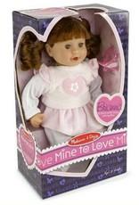 """Melissa & Doug Brianna 12"""" Doll"""