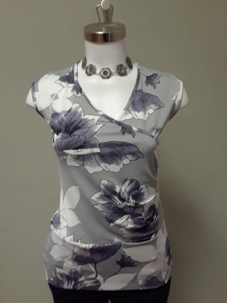 Artex Fashions Floral Wrap Cami