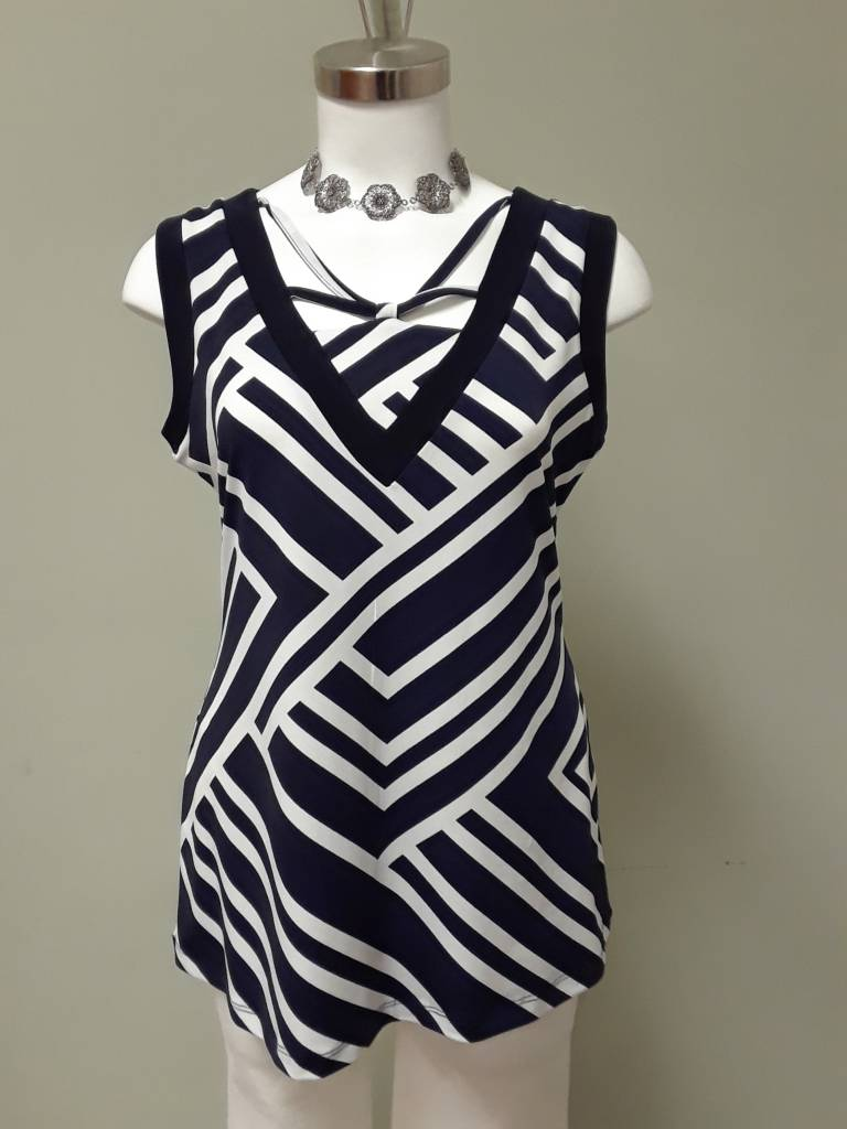 Artex Fashions Criss Cross Pretty Cami