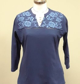Danna Embroidered Top
