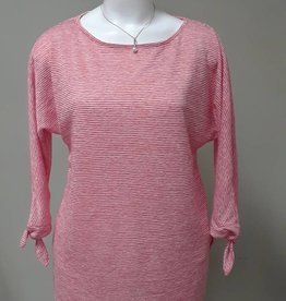 Pure Essence Tunic with 3/4 Tie Sleeves