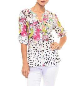 Alison Sheri Floral Multi Blouse