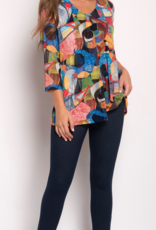 SOFT WORKS Picasso Print Top
