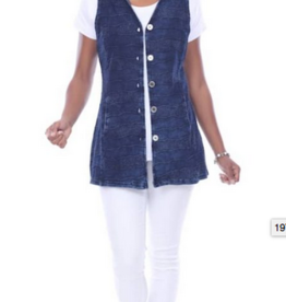 Parsley & Sage Erin Long Vest
