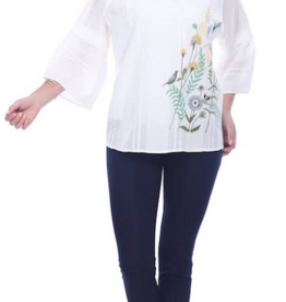 Gloria Embroidered Top