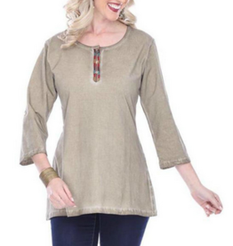 Parsley & Sage Bailey Top, Taupe, 18F540C