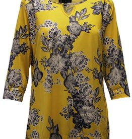 N TOUCH 3/4 Slv Print Top