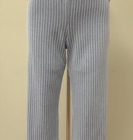 SOFT WORKS Knit Striped Pull On Capri