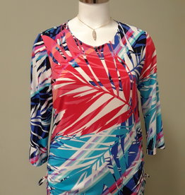 SOFT WORKS Side Ruching Top