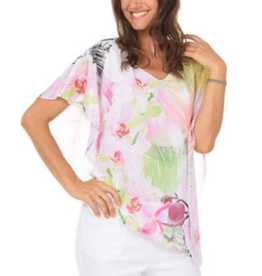 Impulse California Floral Waves Layer Top