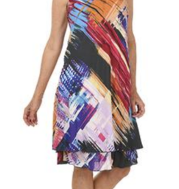 Impulse California Ruffled Dress