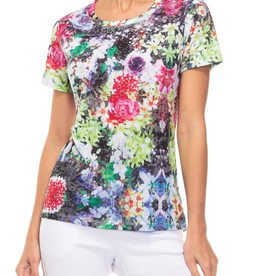 Alison Sheri Floral T-Shirt