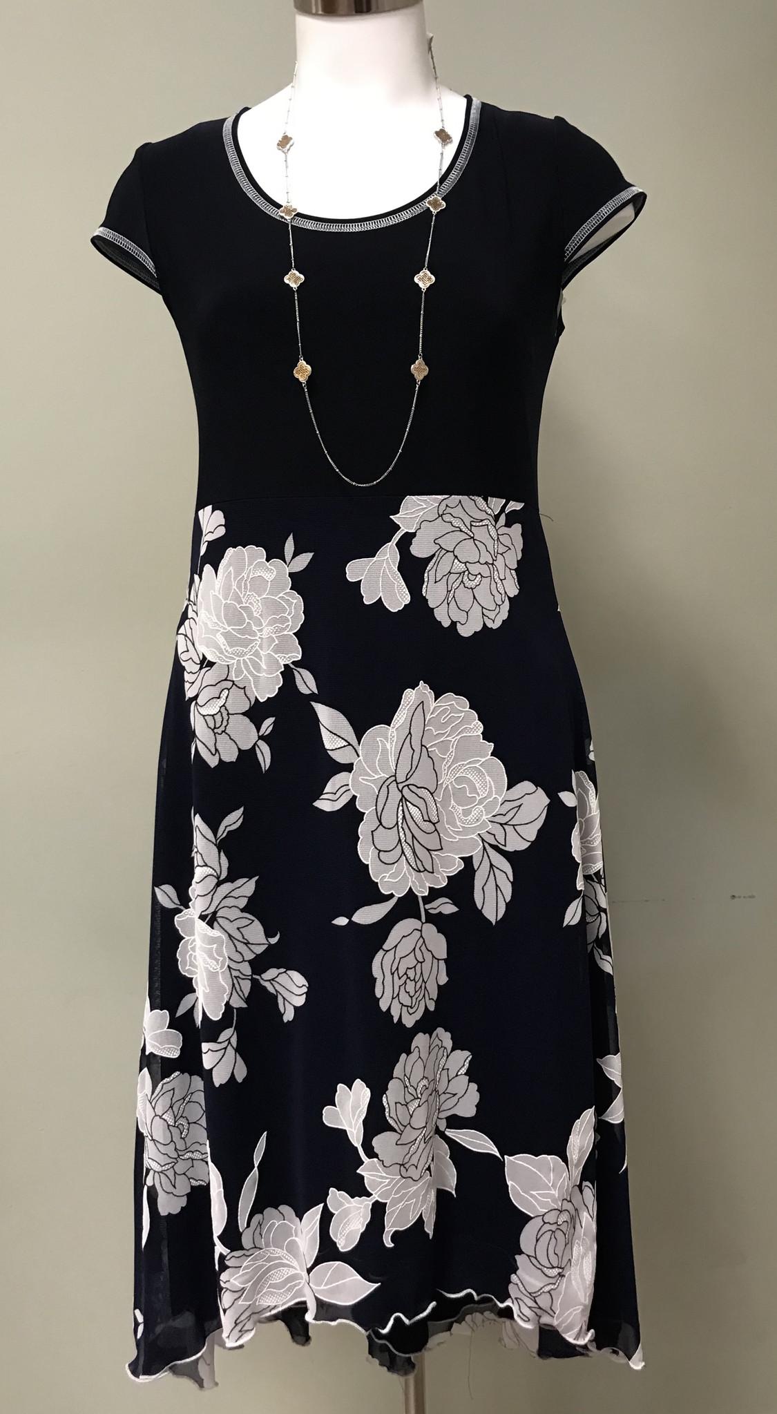 Artex Fashions Rosebud 2 Tone Dress