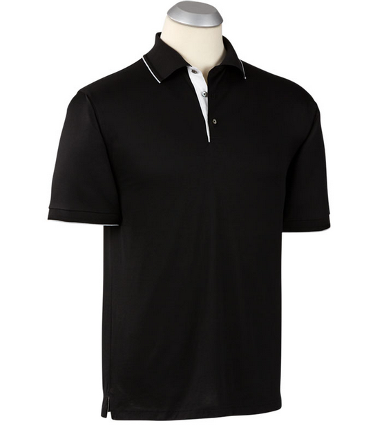 Bobby Jones Black Lux Mercerized Cotton Solid