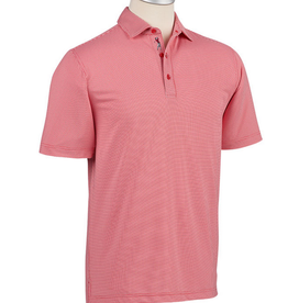 Bobby Jones Red/White Grid Jacquard-Cambridge