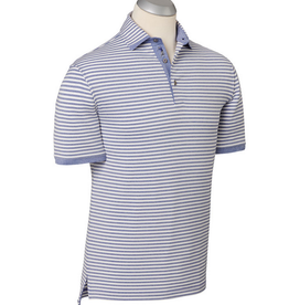 Bobby Jones Purple Passion Heathered Fusion Stripe