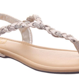 Madeline Antique Gold Charge Sandal