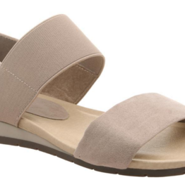 Medium Taupe Motto Sandal