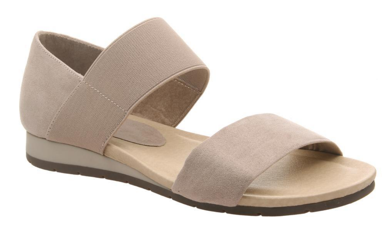 Medium Taupe Motto Sandal