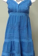 Compliments Woven Emb Lined Short Dress
