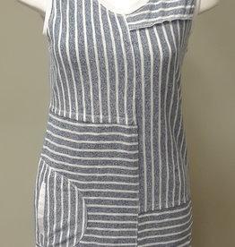 Violet Ruby Knitted Stripe Dress