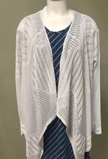 Knitted Open Cardi-Long