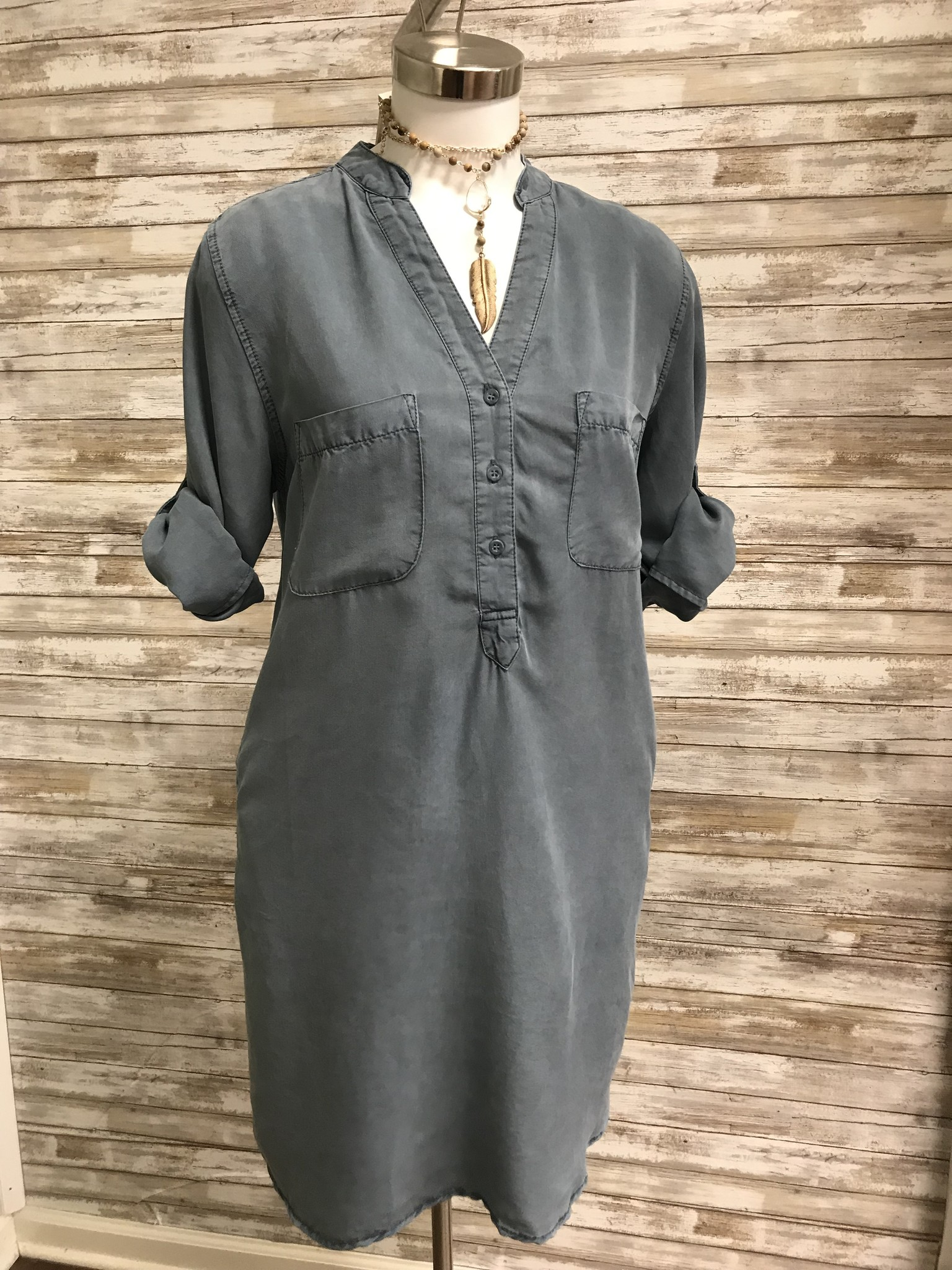 Chambrai Shirt Dress F15