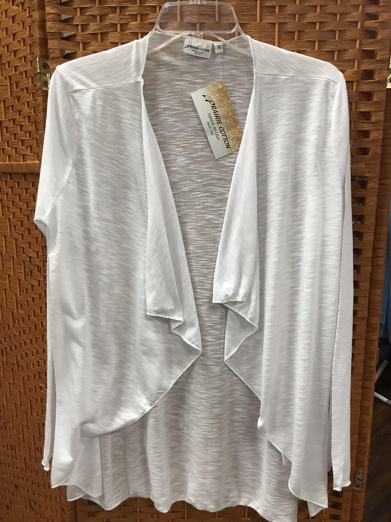 Prairie Cotton Wrap Cardigan