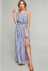 Stripe Cami Maxi Dress