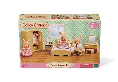 Calico Critters CALICO CRITTERS PARENTS BEDROOM SET*