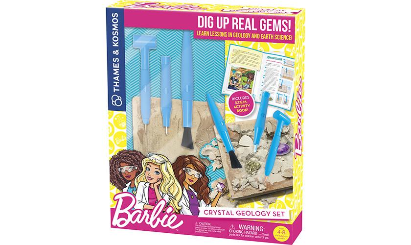Barbie Barbie Crystal Geology