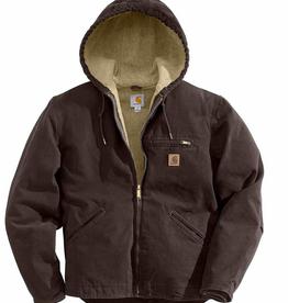 Carhartt Sandstone Sherpa Lined Jacket