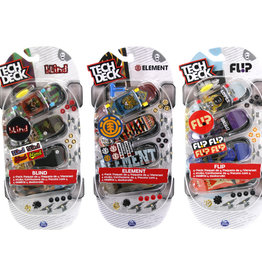 Toysmith Tech Deck 4 Pack Asst