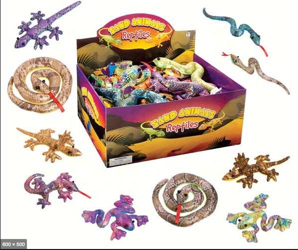 Toysmith TT Sand Animals Reptile