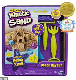 Toysmith Kinetic Sand Beach Day Kit