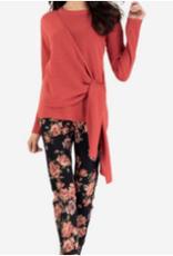 TRIBAL L/S Wrap Sweater