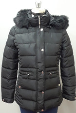 TRIBAL Puffer W/Detachable Hood & Fur