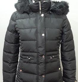 TRIBAL Puffer W/Detachable Hood & Fur