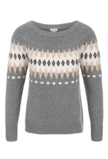 TRIBAL L/S Jaquard Sweater