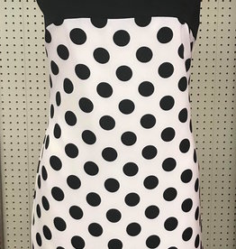 LINEA DOMANI Linea Domani - 8089 - Polka Dot Sleeveless Dress