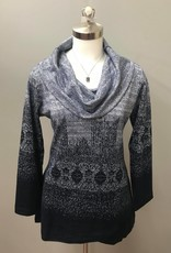 Parsley & Sage Cowl Neck Top