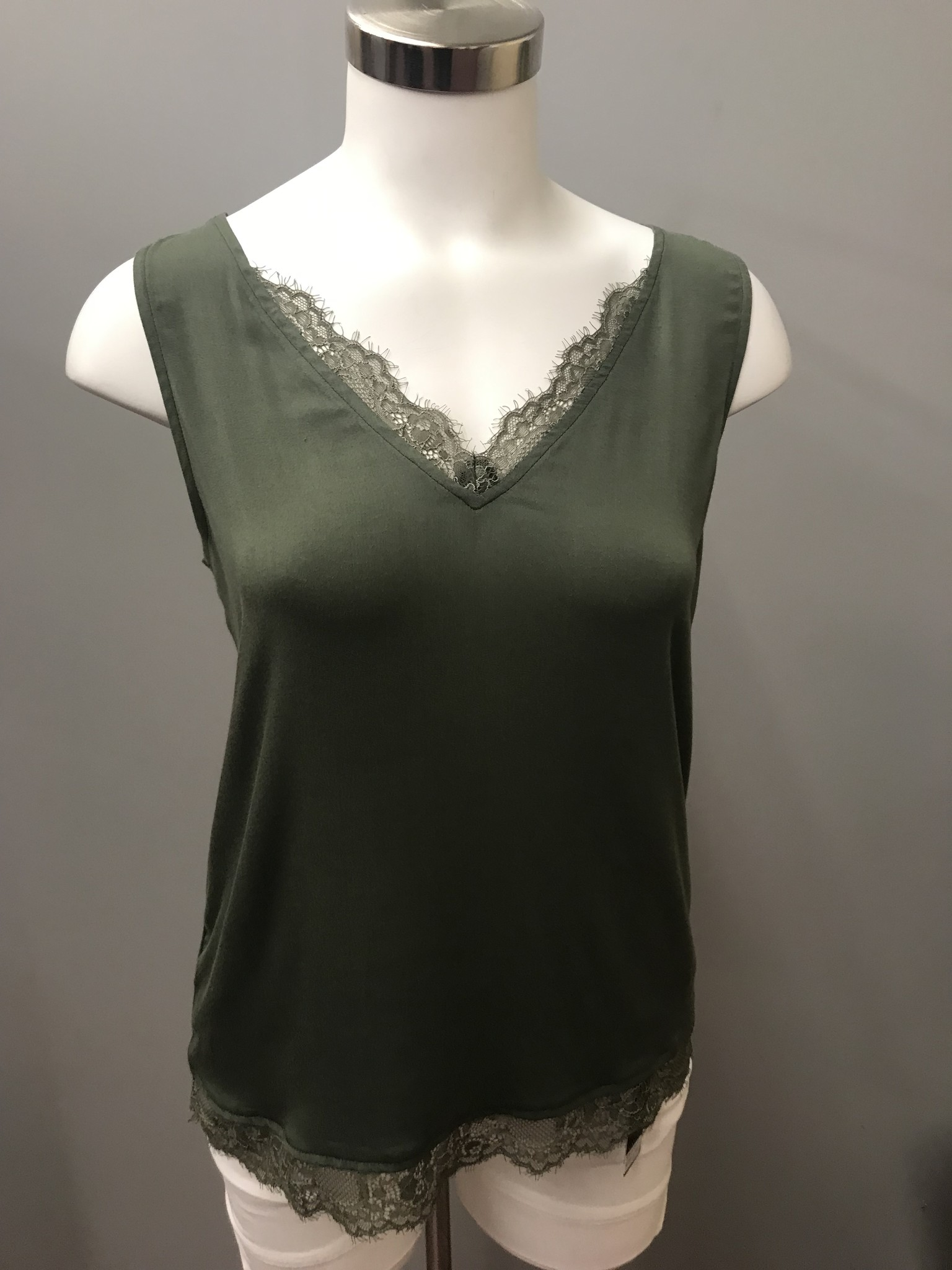 TRIBAL Cami W/Lace Combo