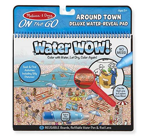 Melissa & Doug Around Town Deluxe Water Wow!