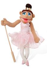 Melissa & Doug Ballerina Puppet Full Body