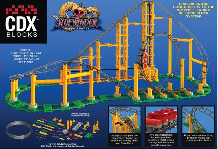 Coaster Dynamix Sidewinder Roller Coaster