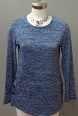 SOFT WORKS Button Sweater