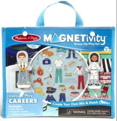 Melissa & Doug Magnetivity - Dress & Play Careers
